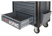 Large drawer dark gray for S9 tool trolley