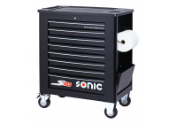 Tool trolley empty S10 8 loading black (RAL9004)