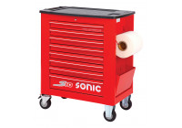 Tool trolley empty S10 8 loading red (RAL3001)