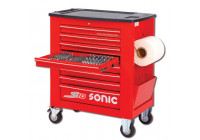 Filled tool trolley S10 285-pcs. red
