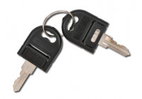 Key for cart (lock square connection)