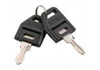 Key for tool trolley