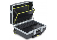 Tool case mobile with gas springs