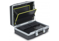 Tool case with gas springs