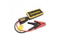 Hummer H2 Mini Jumpstarter / Charger 12.000mAH + LED Lamp
