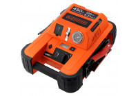 Black & Decker BDJS450i Jumpstarter 450A with compressor 8 bar
