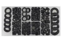 Assortment rubber tules 180 pieces