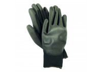 Pu-flex black glove mt. 9 L / XL