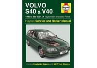 Haynes Workshop manual Volvo S40 & V40 petrol (1996 - March 2004)