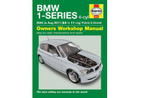 Haynes Workshop manual BMW 1-Series 4-cyl petrol & diesel (2004 - Aug 2011)