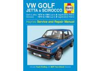 Haynes Workshop manual VW Golf, Jetta & Scirocco Mk 1 petrol 1.5, 1.6 & 1.8 (1974-1984)