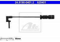 Warning Contact, brake pad wear 24.8190-0401.2 ATE