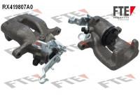Brake Caliper RX419807A0 FTE