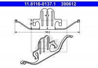 Spring, brake caliper 390612 ATE