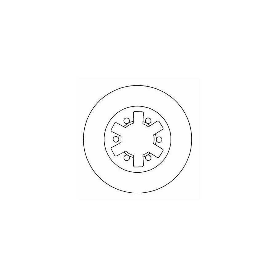 Brake Disc 16054 ABS