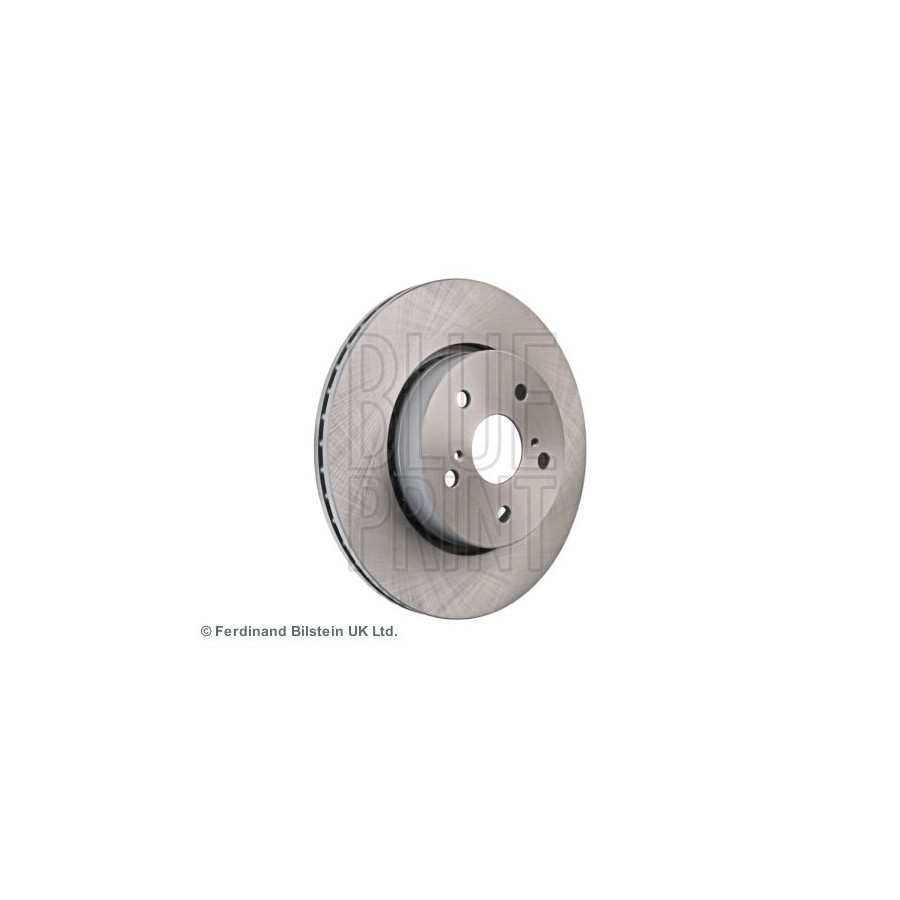 internally ventilated of Holes 5 Blue Print ADT34337 Brake Disc Set 2 Brake Disc front No