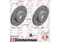 Brake Disc BLACK Z 150.3482.53 Zimmermann