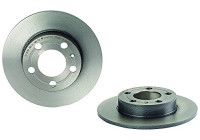 Brake Disc COATED DISC LINE 08.7165.11 Brembo