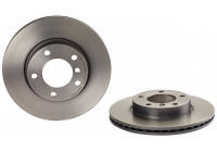 Brake Disc COATED DISC LINE 09.5390.31 Brembo