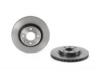 Brake Disc COATED DISC LINE 09.5802.21 Brembo