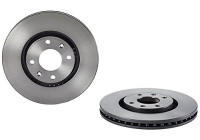 Brake Disc COATED DISC LINE 09.8760.11 Brembo