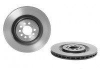 Brake Disc COATED DISC LINE 09.9078.21 Brembo