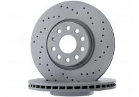 Brake Disc SPORT BRAKE DISC COAT Z 100.3300.52 Zimmermann