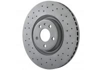 Brake Disc SPORT BRAKE DISC COAT Z 100.3357.52 Zimmermann