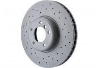 Brake Disc SPORT BRAKE DISC COAT Z 150.3481.52 Zimmermann