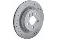 Brake Disc SPORT BRAKE DISC COAT Z 600.3243.52 Zimmermann
