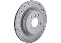 Brake Disc SPORT BRAKE DISC COAT Z 610.1199.52 Zimmermann