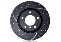 Brake Disc Turbo Grooved