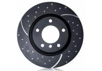 Brake Disc Turbo Grooved