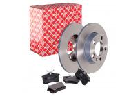 Febi Brake Discs + Brake Pads Combi Deal Combideal39 Febi Combi Deals