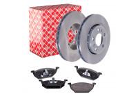 Febi Brake Discs + Brake Pads Combi Deal