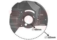 Dust Shield, brake disc