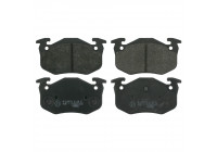 Brake Pad Set, disc brake 20973 FEBI