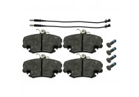 Brake Pad Set, disc brake 21004 FEBI