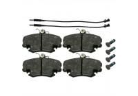 Brake Pad Set, disc brake 21004 FEBI