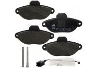 Brake Pad Set, disc brake 21436 FEBI