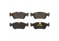 Brake Pad Set, disc brake 21925 FEBI