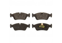 Brake Pad Set, disc brake 21925 FEBI