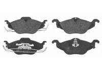 Brake Pad Set, disc brake 23066 FEBI
