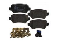 Brake Pad Set, disc brake 23417 FEBI