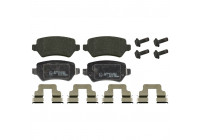Brake Pad Set, disc brake 23417 FEBI