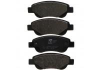 Brake Pad Set, disc brake 23959 FEBI