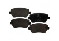 Brake Pad Set, disc brake 23973 FEBI