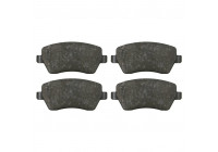 Brake Pad Set, disc brake 23973 FEBI