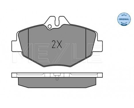 Brake Pad Set, disc brake MEYLE-ORIGINAL Quality, Thumbnail 2