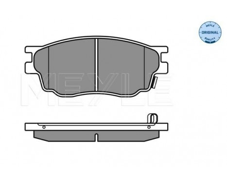 Brake Pad Set, disc brake MEYLE-ORIGINAL Quality, Image 3